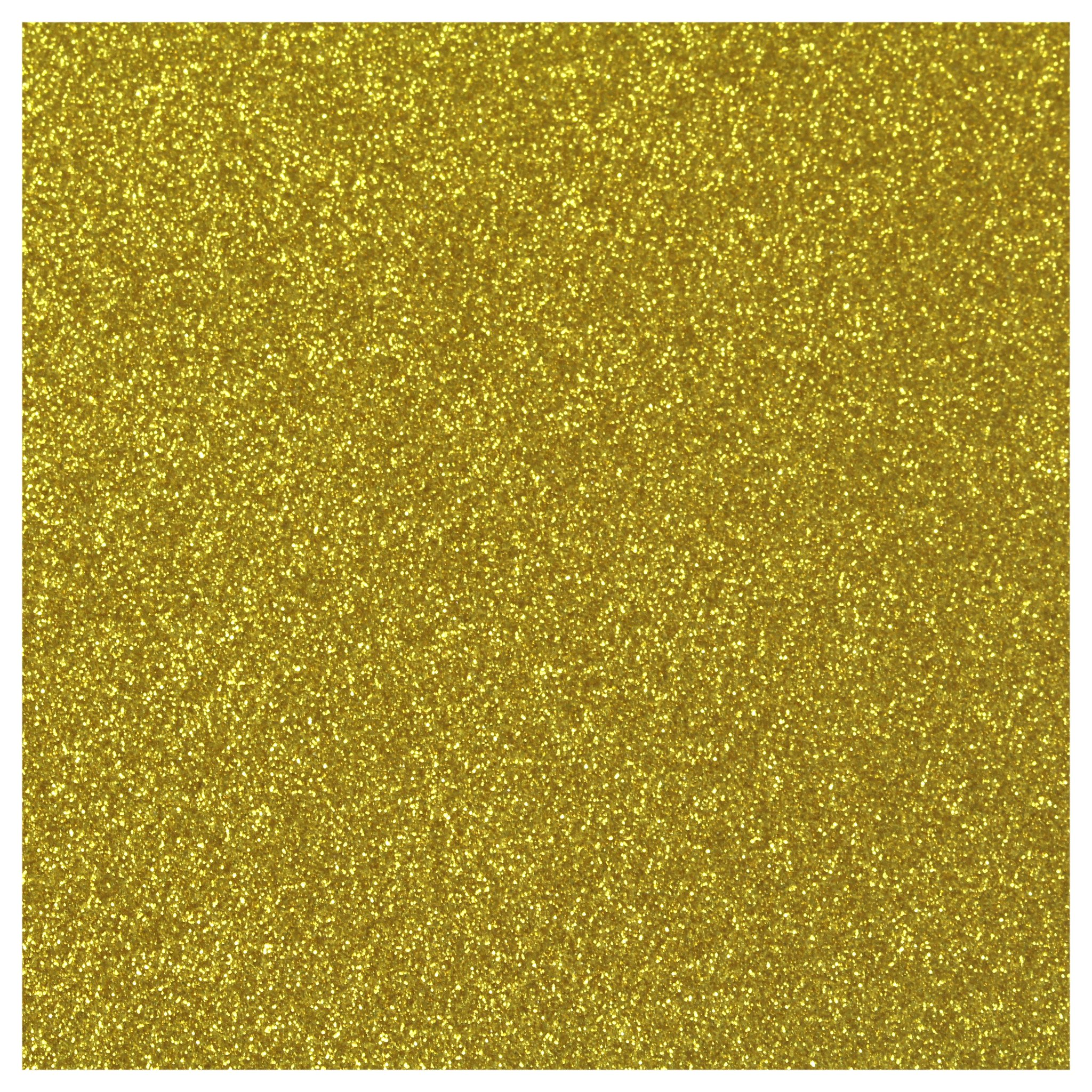 Siser Glitter Heat Transfer Material - Gold