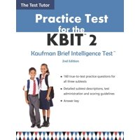Practice Test for the Kbit 2 (Paperback)