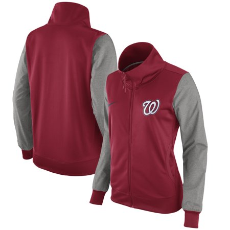 Washington Nationals Nike Women S Full Zip Jacket Red