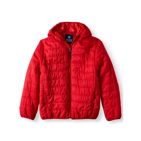 5d6cbb369 Northern Explosion - Water Resistant Packable Puffer Jacket (Little ...