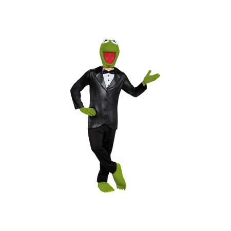 Kermit Meme Halloween (Kermit the Frog Teen Men)