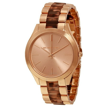 a0c96956f3c5 Michael Kors - Michael Kors Runway Rose Gold-tone Stainless Steel Ladies  Watch MK4301 - Walmart.com
