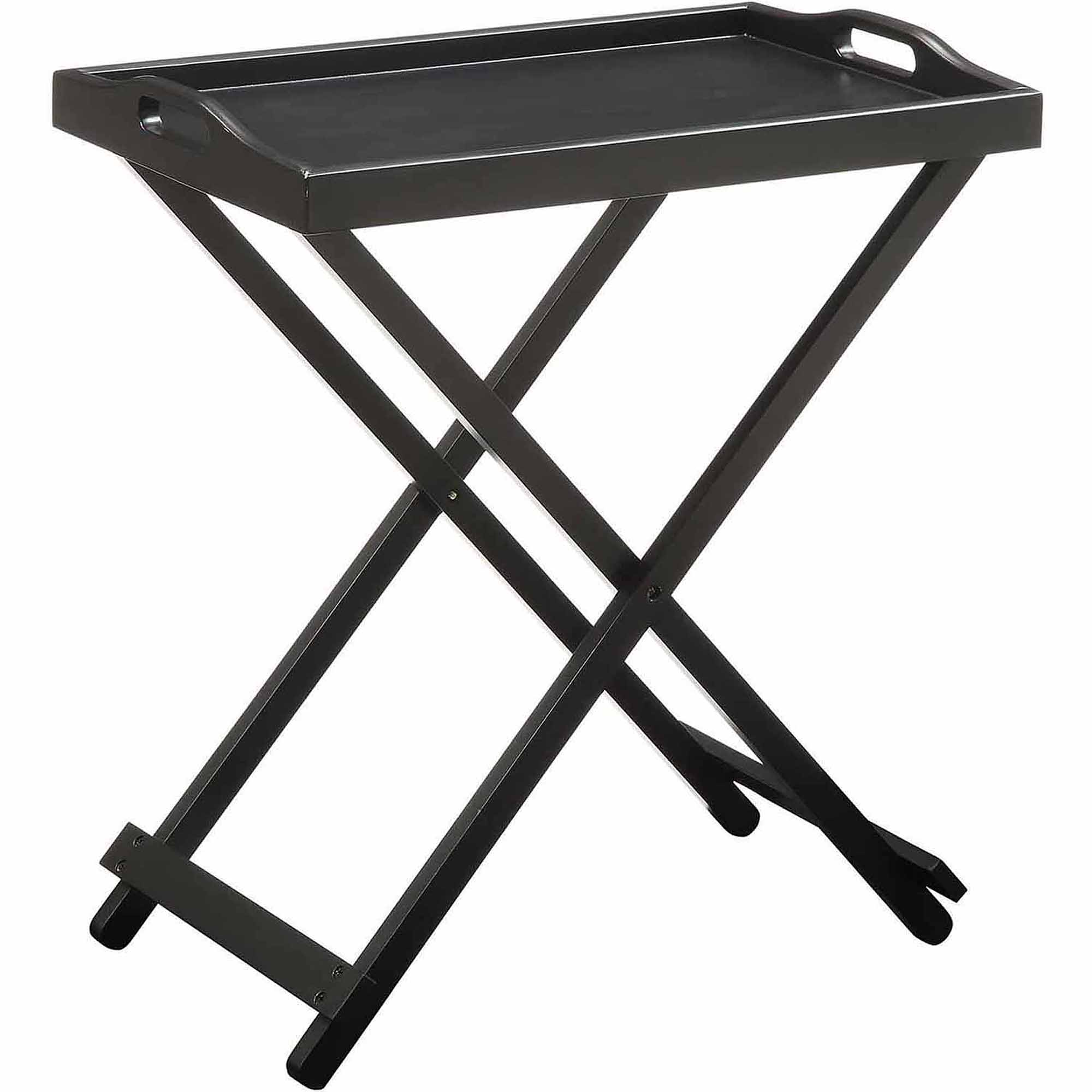Convenience Concepts Designs2go Folding Tray Table Multiple Colors