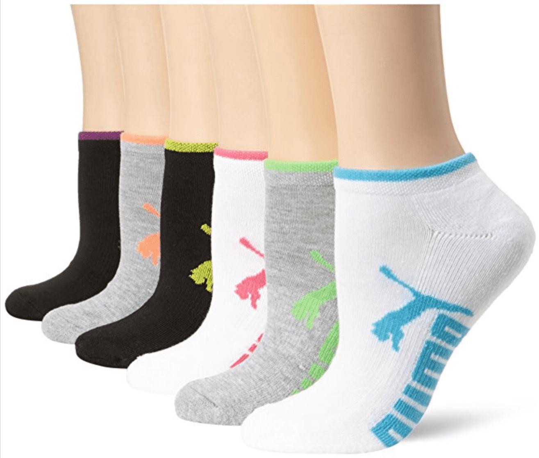 PUMA - PUMA Women's 6 Pack Low Cut Socks - Walmart.com