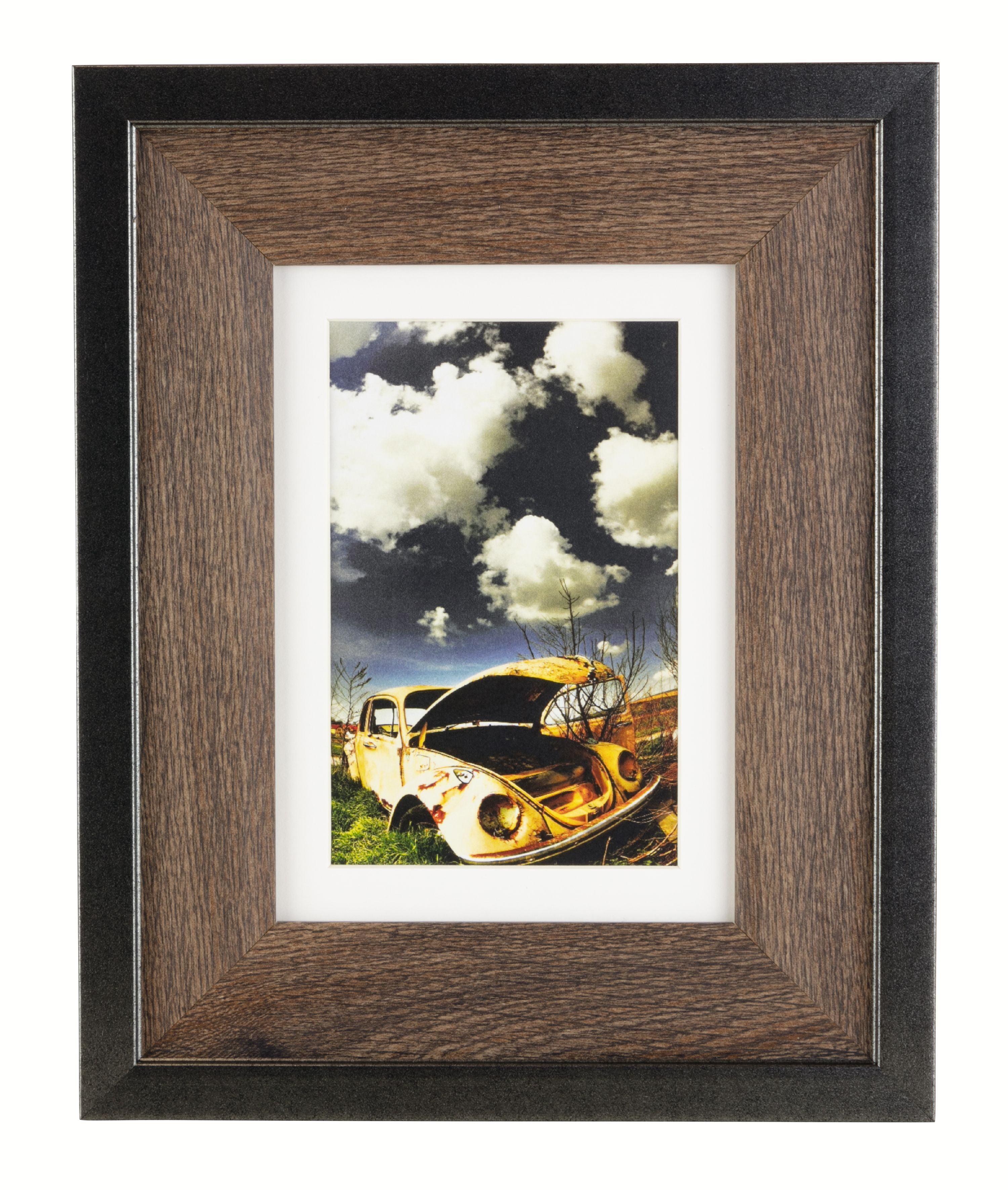 Espresso Kiera Grace 7-Inch Wooden Display Easel