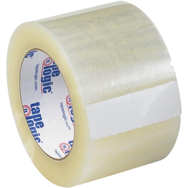 "Tape Logic #131 Quiet Carton Sealing Tape Clear 3"" x 55 yard Roll (6 Pack)"