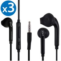 3-Pack OEM Original Earbud Earphone Headset Headphones With Remote for Samsung Galaxy S6 edge S7 edge Galaxy S8 Galaxy S9 Galaxy S8+ Galaxy S9+ Plus Galaxy Note 8 Note 9 EO-EG920LW sold by FREEDOMTECH