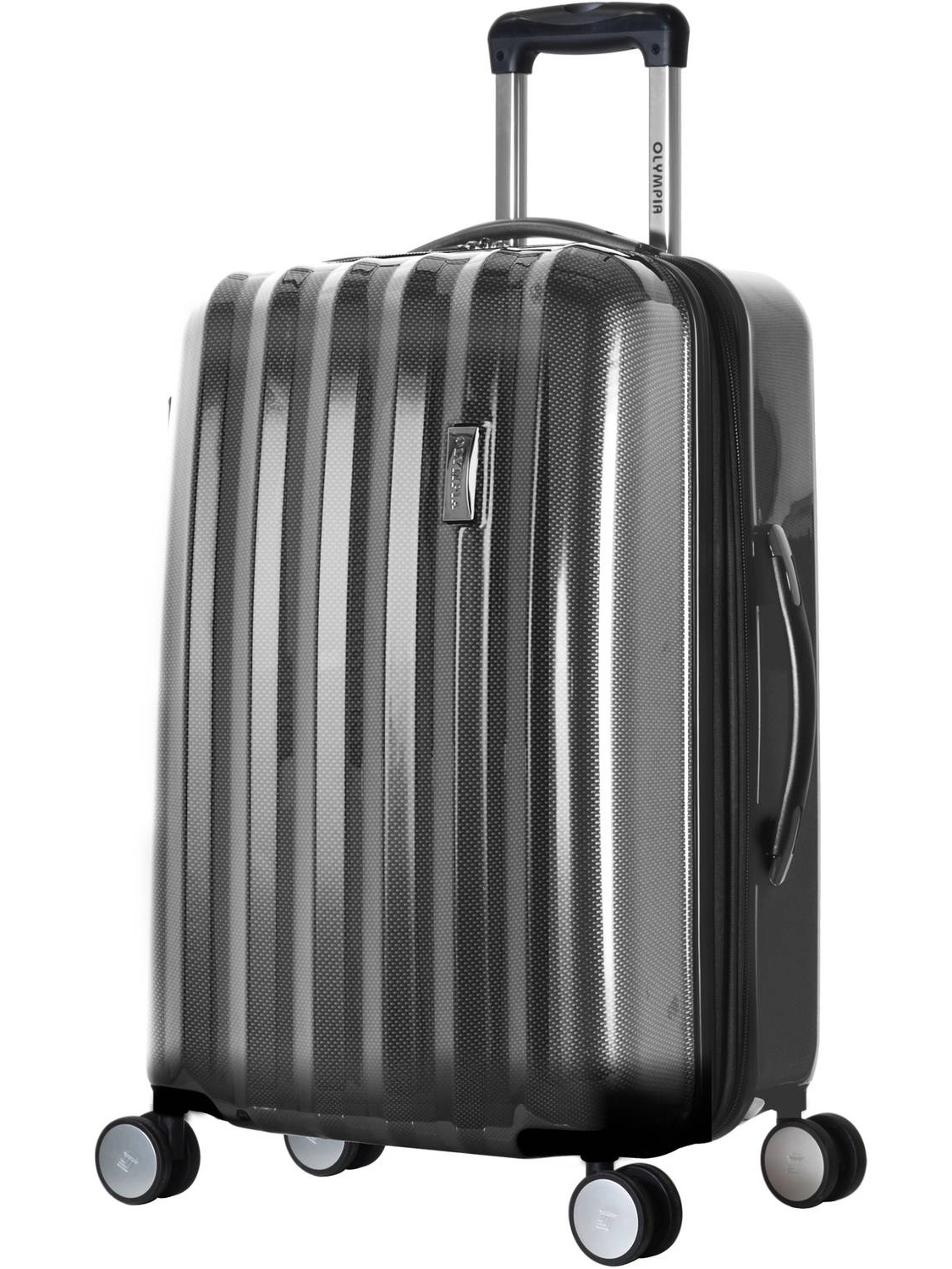 0cb917a90 Olympia Usa - Olympia Titan 3 Piece Expandable Luggage Polycarbonate  Hardcase Spinner Set - Walmart.com