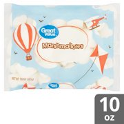 (2 pack) Great Value Marshmallows, 10 oz