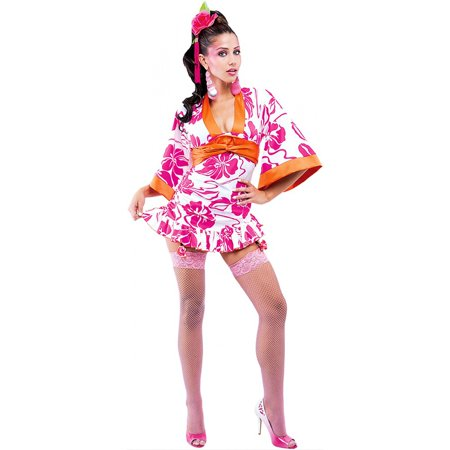 Geisha Woman Adult Costume - X-Small