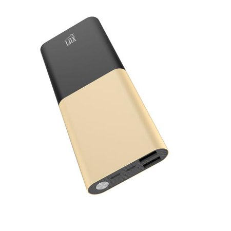 Portable Charger Power Bank, LAX 12000mAh Dual USB Port External Mobile Backup Battery for iPhone, Samsung Galaxy, Smartphone, Cell