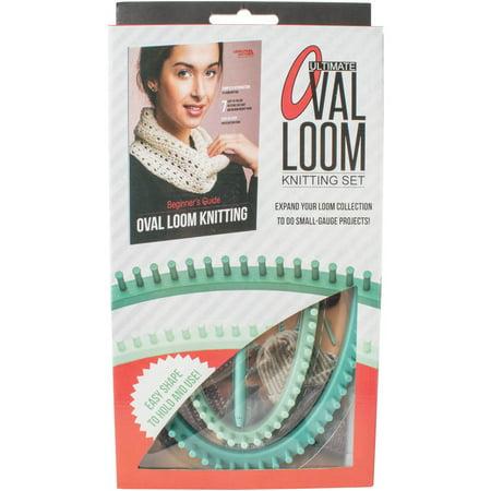 Ultimate Oval Loom Knitting Set For Beginners Walmart