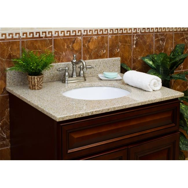 LessCare Vanity Granite Top - Wheat