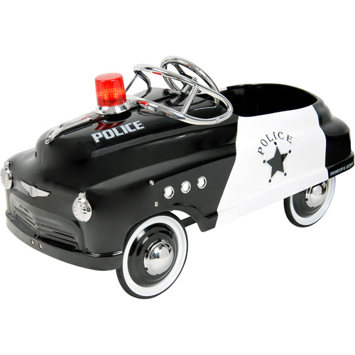 Purple Mountain Toy Company Police Sedan Pedal Car