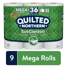 Toilet Paper: Quilted Northern EcoComfort