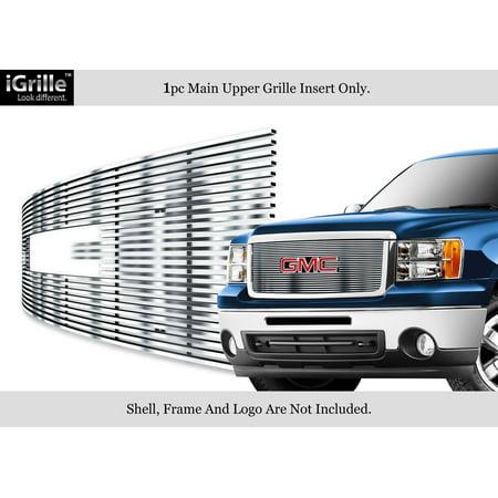 For 2007-2013 GMC Sierra Denali 1500 Stainless Steel Chrome Billet Grille #N19-C47466G