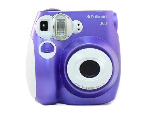 Polaroid 300 Instant Film Camera (Purple) POLPIC300P