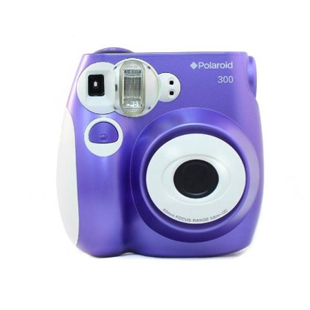 Polaroid PIC-300 Instant Film Analog Camera - (Color - Purple)