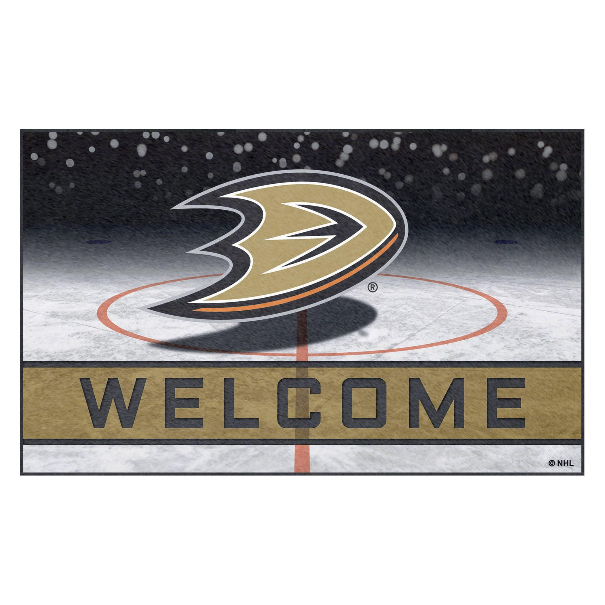 Anaheim Ducks Crumb Rubber Door Mat