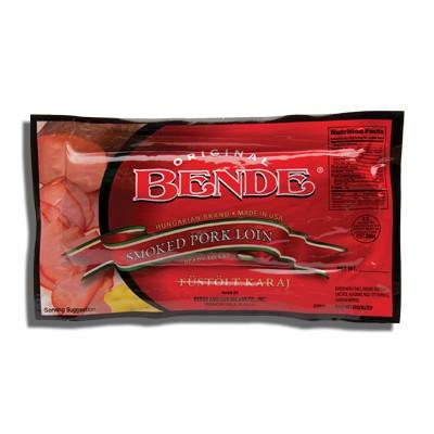Boneless Pork Loin (Smoked Boneless Pork Loin (Bende) approx 1.25lb)
