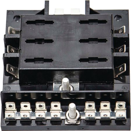 Sierra FS40420 6 Gang ATO/ATC Fuse Block with Ground Bar