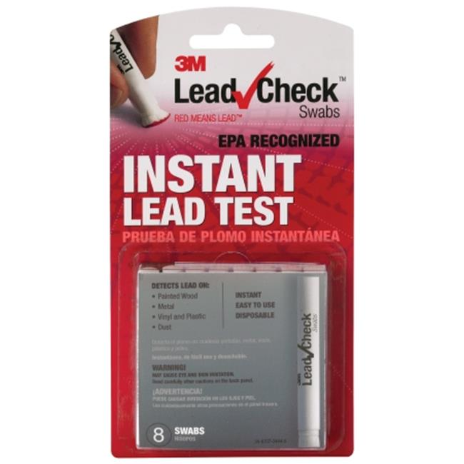3M LC-8S10C 8 Count Instant Lead Check Testing Disposable Swabs