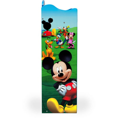 half off 9471b 1df9e Disney Mickey Mouse Wood Bookshelf by Delta Children - Best ...