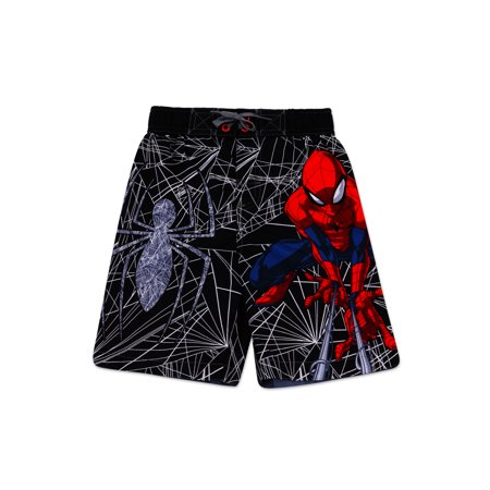 7f8c3f5689 Spider-Man - Boys' Spiderman Swim Trunk - 5/6 - Walmart.com