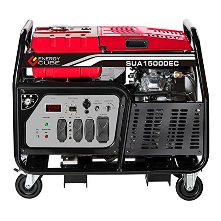 A-ipower 15000- Watt Portable Gasoline Generator with Electric Start- CARB Approved SUA15000EC