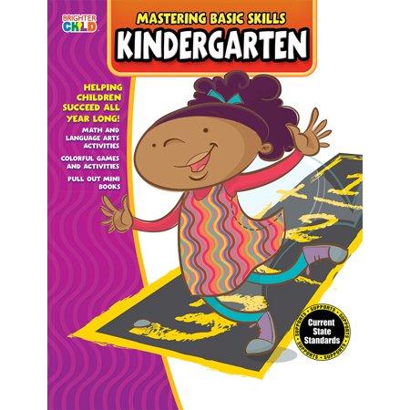 Mastering Basic Skills® Kindergarten Activity Book (Halloween Classroom Activities For Kindergarten)