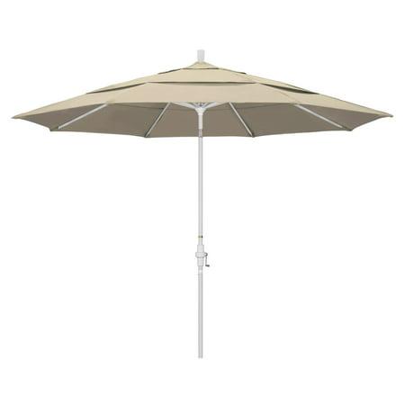California Umbrella 11 ft. Aluminum Sunbrella Market Umbrella