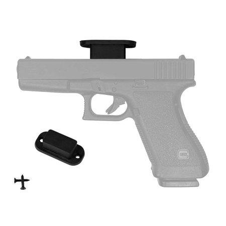 totalElement 30lb Rubber-Coated Magnetic Gun Home/Vehicle Mount - Concealed Weapon Holder/Holster for Pistol, Handgun, Revolver, Rifle & Shotgun Style Concealed Mounting