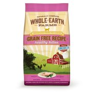 Whole Earth Farms Grain-Free Healthy Kitten Recipe Dry Cat Food, 5 Lb Bag