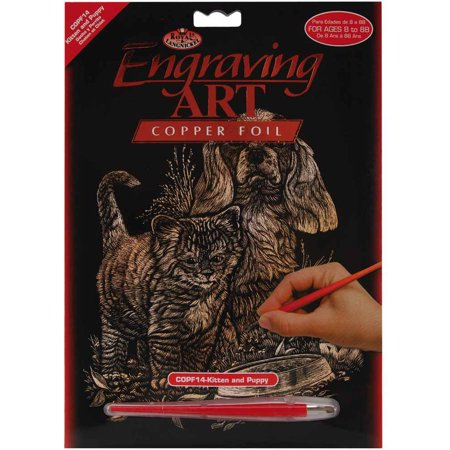- Copper Foil Engraving Art Kit, 8