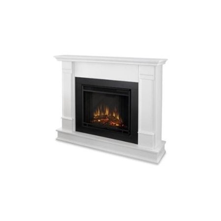 Silverton Electric Fireplace In White