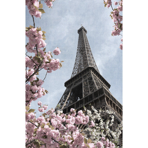 HDC International 'Eiffel Tower' Photographic Print on Wrapped Canvas