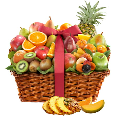 Golden State Fruit Tropical Abundance Fruit Gift Basket (Frozen Gift Basket)