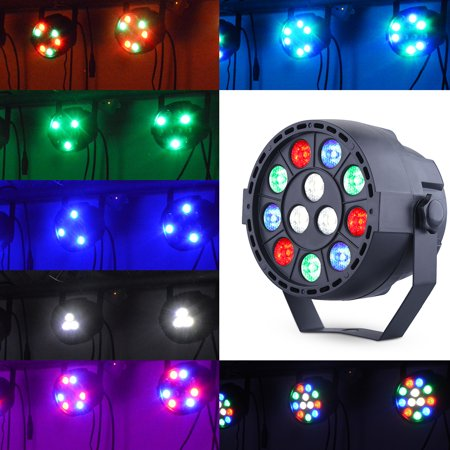 Disco Light Party Ball RGB Rotating LED Strobe Lights Sound Activated Dance Light Stage DJ Lighting For Christmas Parties Festival Holiday Decorations Karaoke Bar Club, Battery Powered - Black Light Decoration Ideas