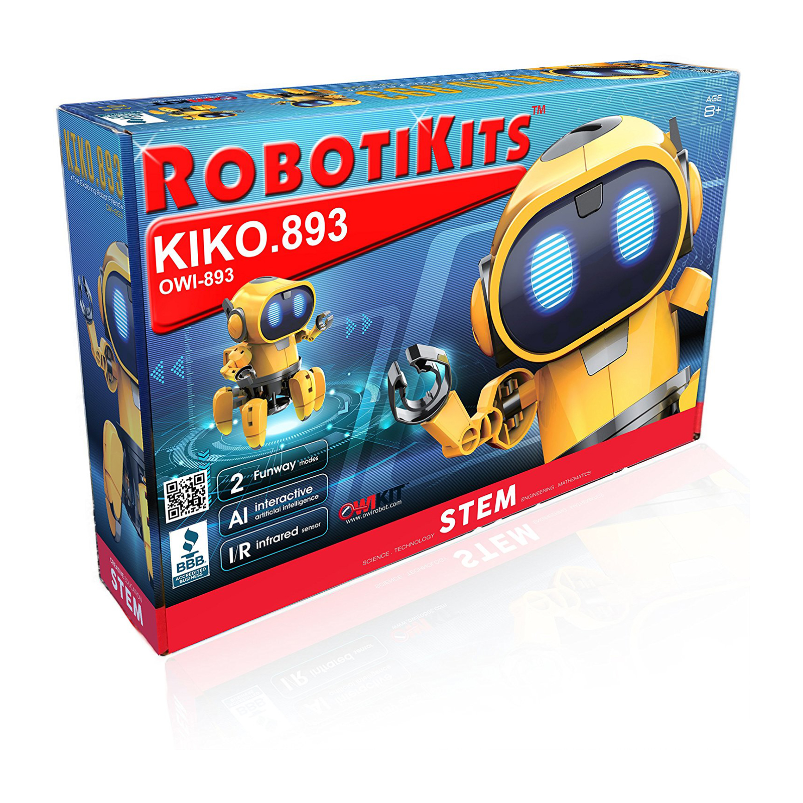 OWI KIKO.893 Robot Kit with Infrared Sensor by Elenco