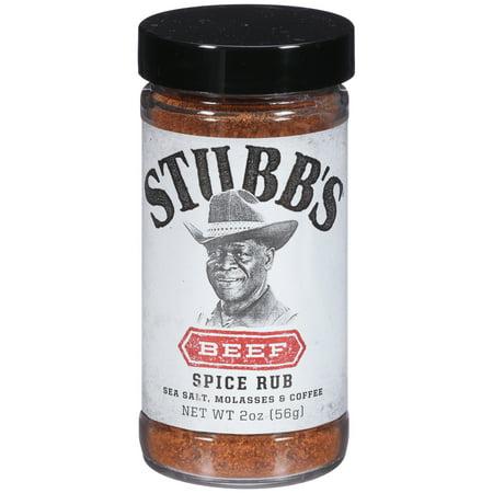 Rub 2 Ounce Cream - Stubb's Beef Rub, 2 oz
