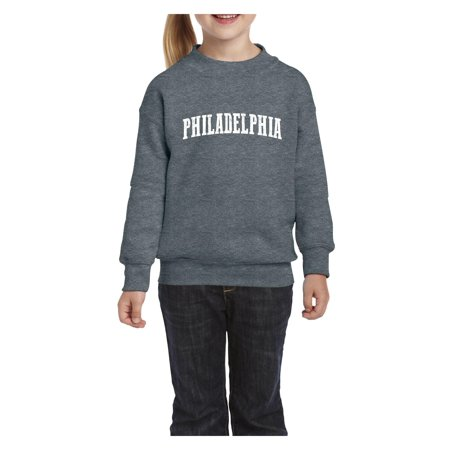 Philadelphia Unisex Youth Crewneck Sweatshirt