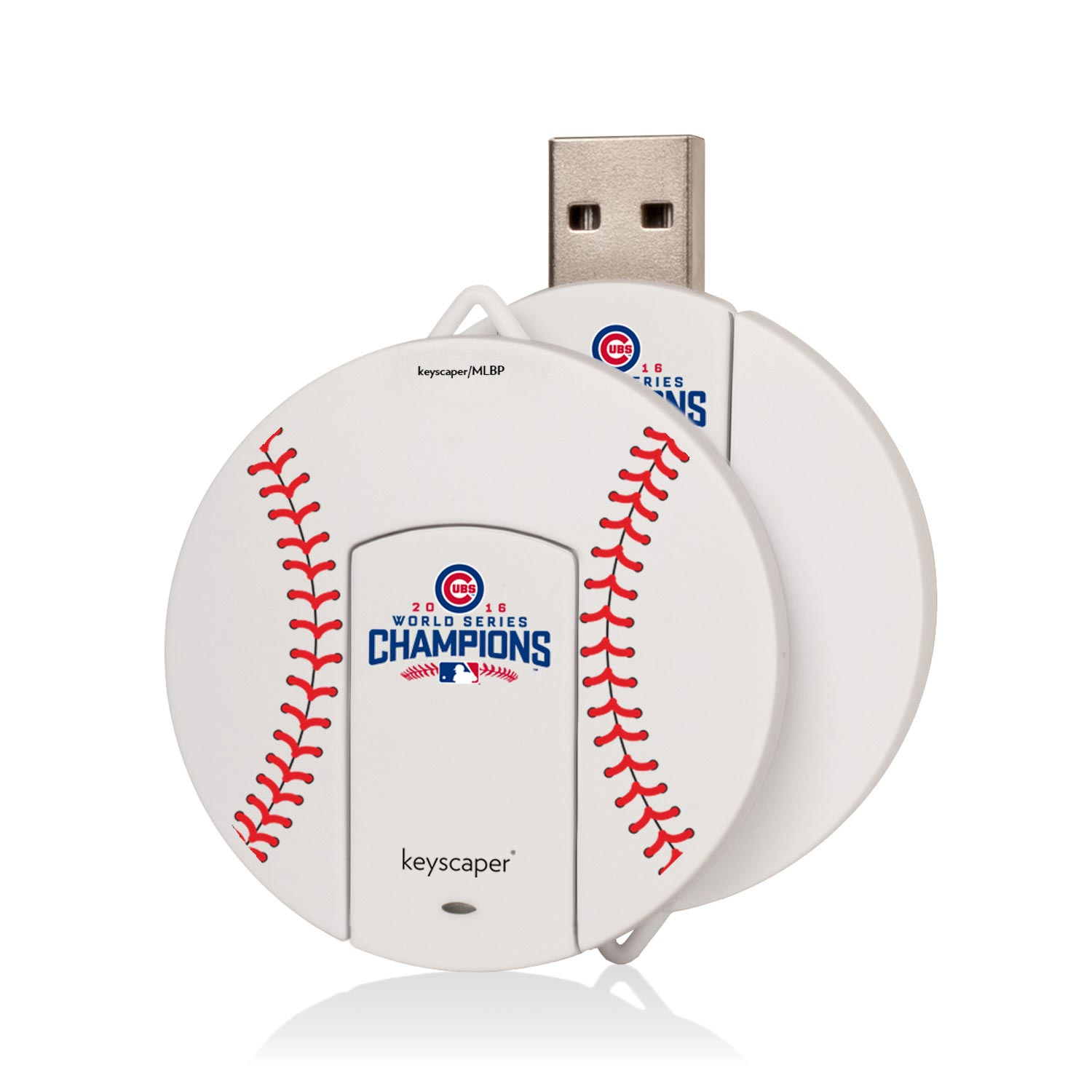 Chicago Cubs 2016 World Series Champions 8GB Round USB Drive - No Size