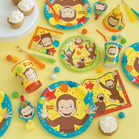 Curious George Birthday Party Supplies Walmart Com
