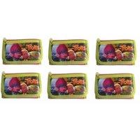 6 Piece Party Favors Dreamworks Trolls 2 Card pockets Trifold Wallet-Green