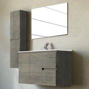 Adornus Bellezza 32'' Single Vanity with Mirror