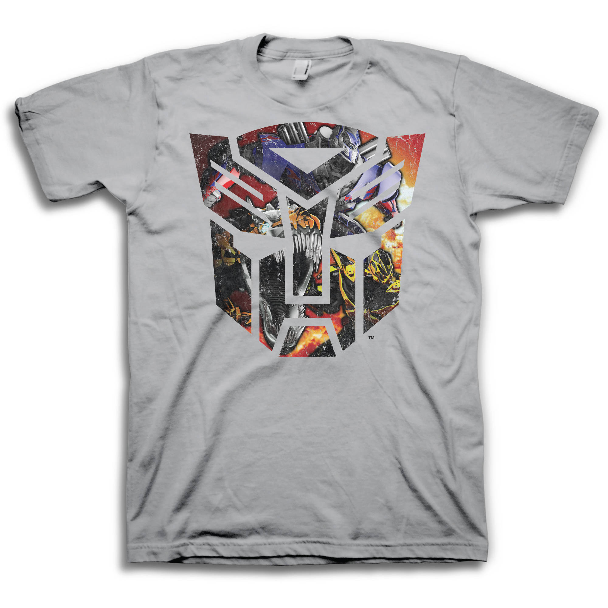 Transformers Autobot Logo Big Men's Short Sleeve T-shirt