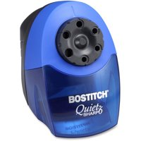 Bostitch QuietSharp 6 Classroom Electric Pencil Sharpener, Blue