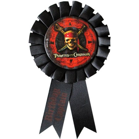 Pirates of the Caribbean Guest of Honor Ribbon (1ct) (Pirate Ribbon)