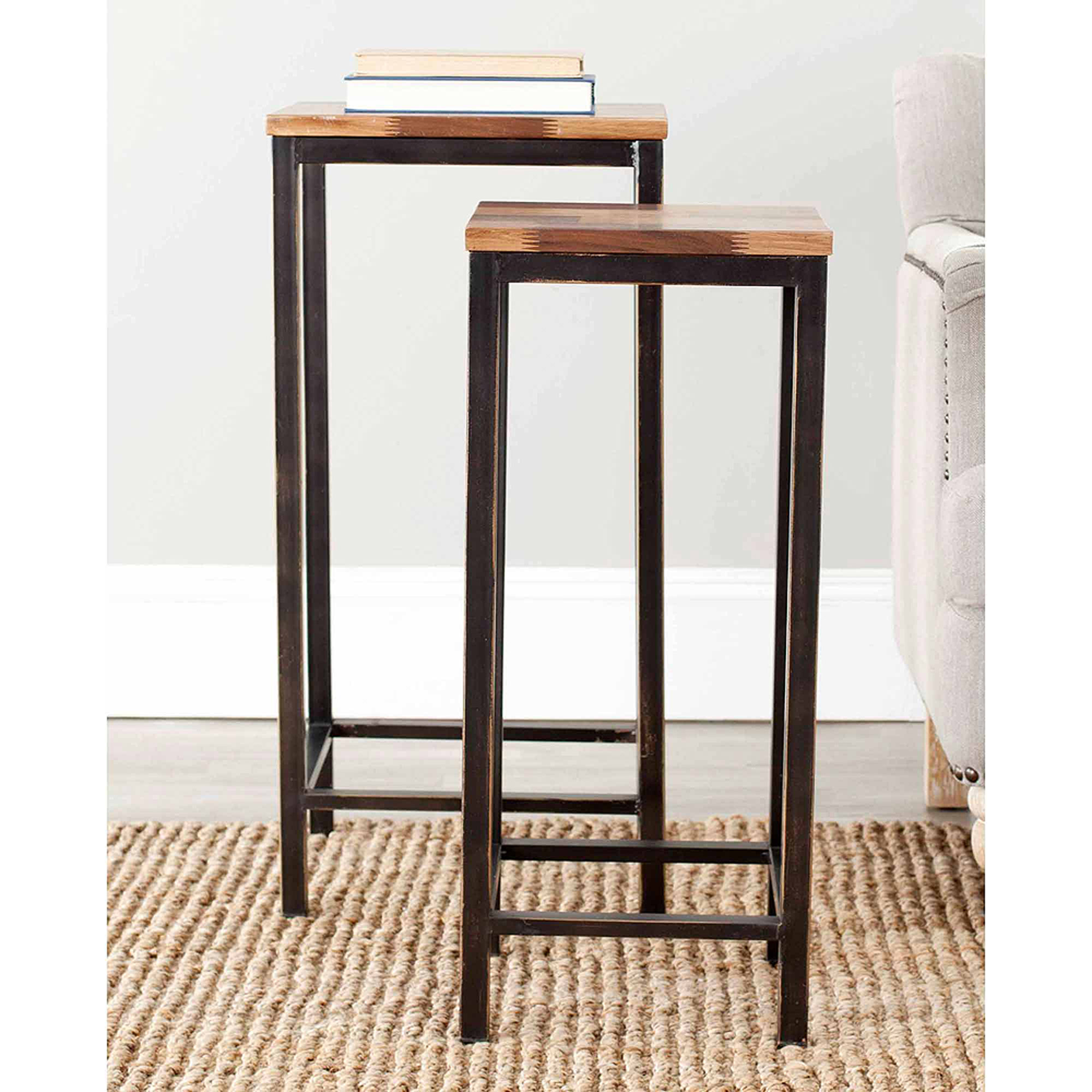 Safavieh George Stacking Table, Brown