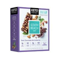 South Beach Diet Keto Dark Chocolate Nut Bar, 5 Count